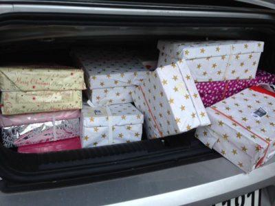 Weihnachten im Schuhkarton: Lieferung